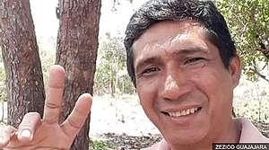 已故亞馬遜原住民Zezico Rodrigues(摘自BBC News 網站)