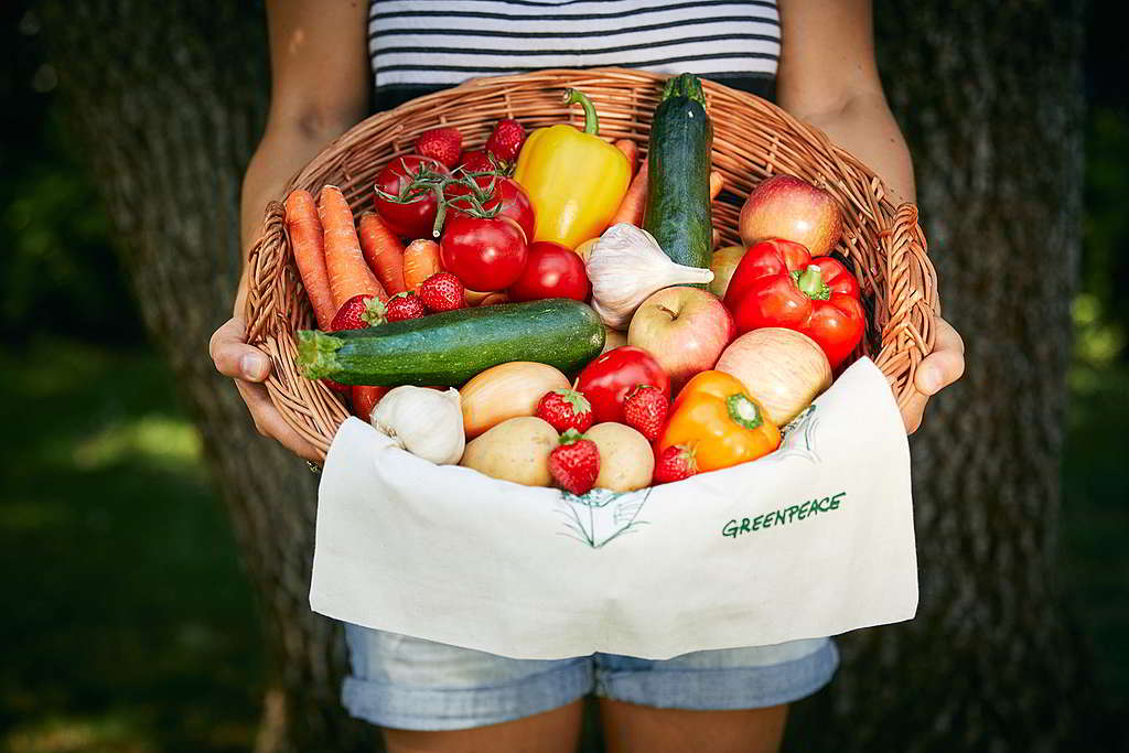 選擇多菜少肉等可持續生活方式,也能為世界帶來改變! © Mitja Kobal / Greenpeace