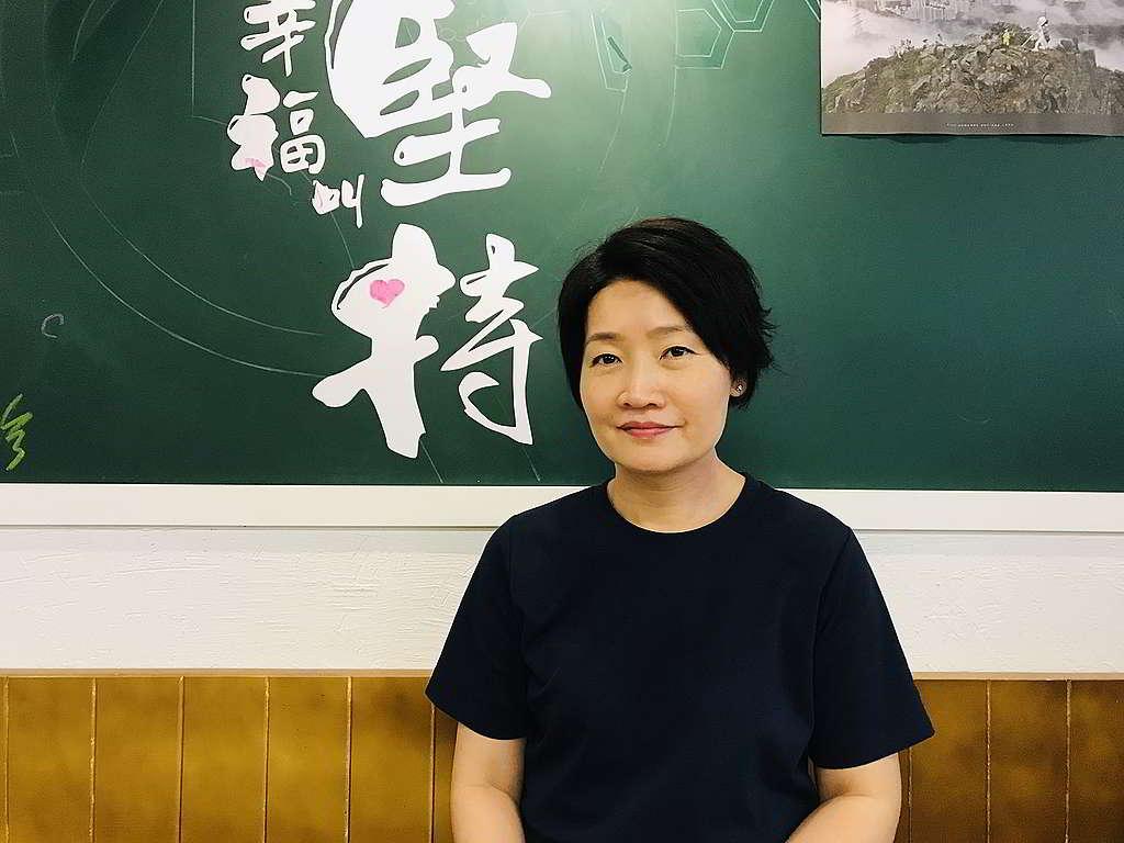 Esther貫徹「研究所」的實驗精神,在保留原有色香味的大前提下將菜式走肉,以植物食材取而代之。 © Greenpeace