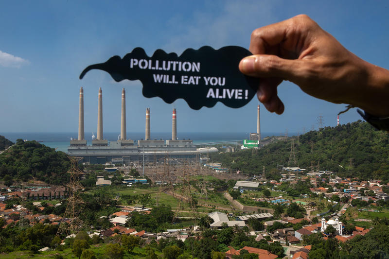 空氣污染,是活在現代都市的隱形殺手。© Rendra Hernawan / Greenpeace