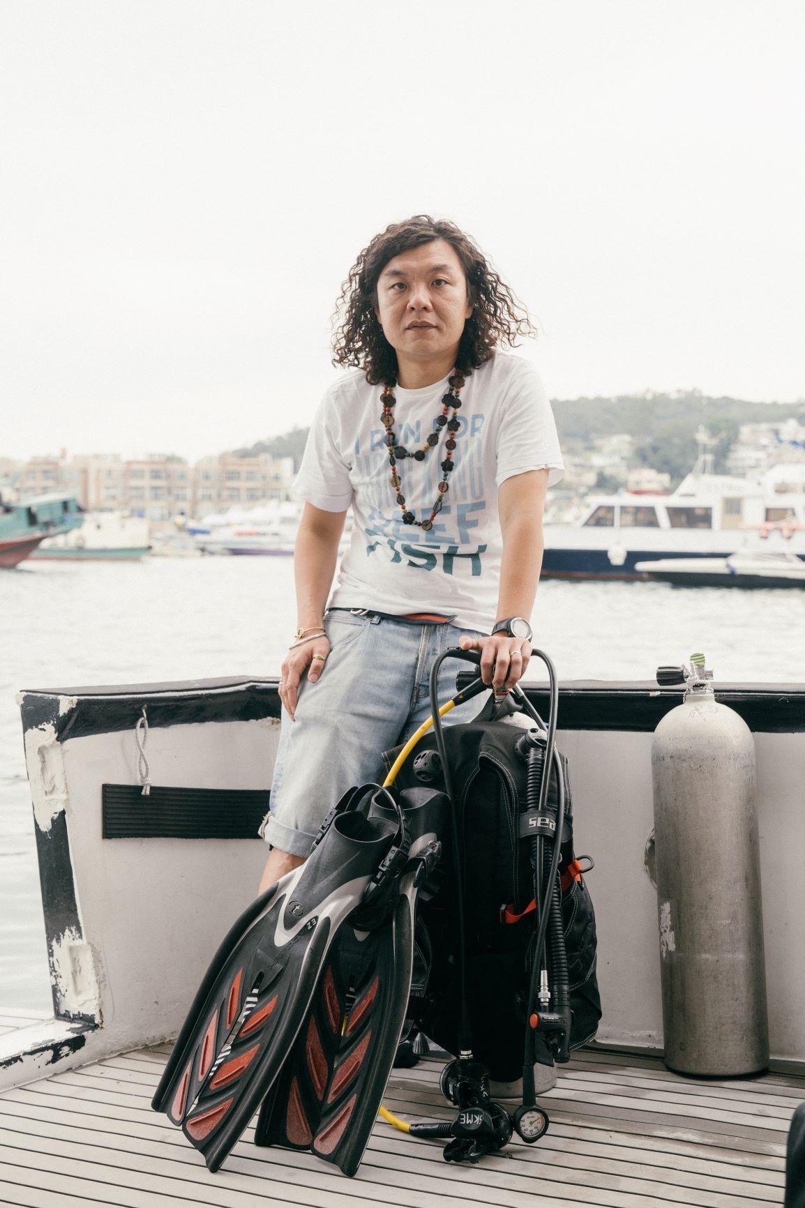 珊瑚魚普查工作已經做了6年,Stan說資料庫要持續更新,海洋情況須持續監測。© Patrick Cho / Greenpeace