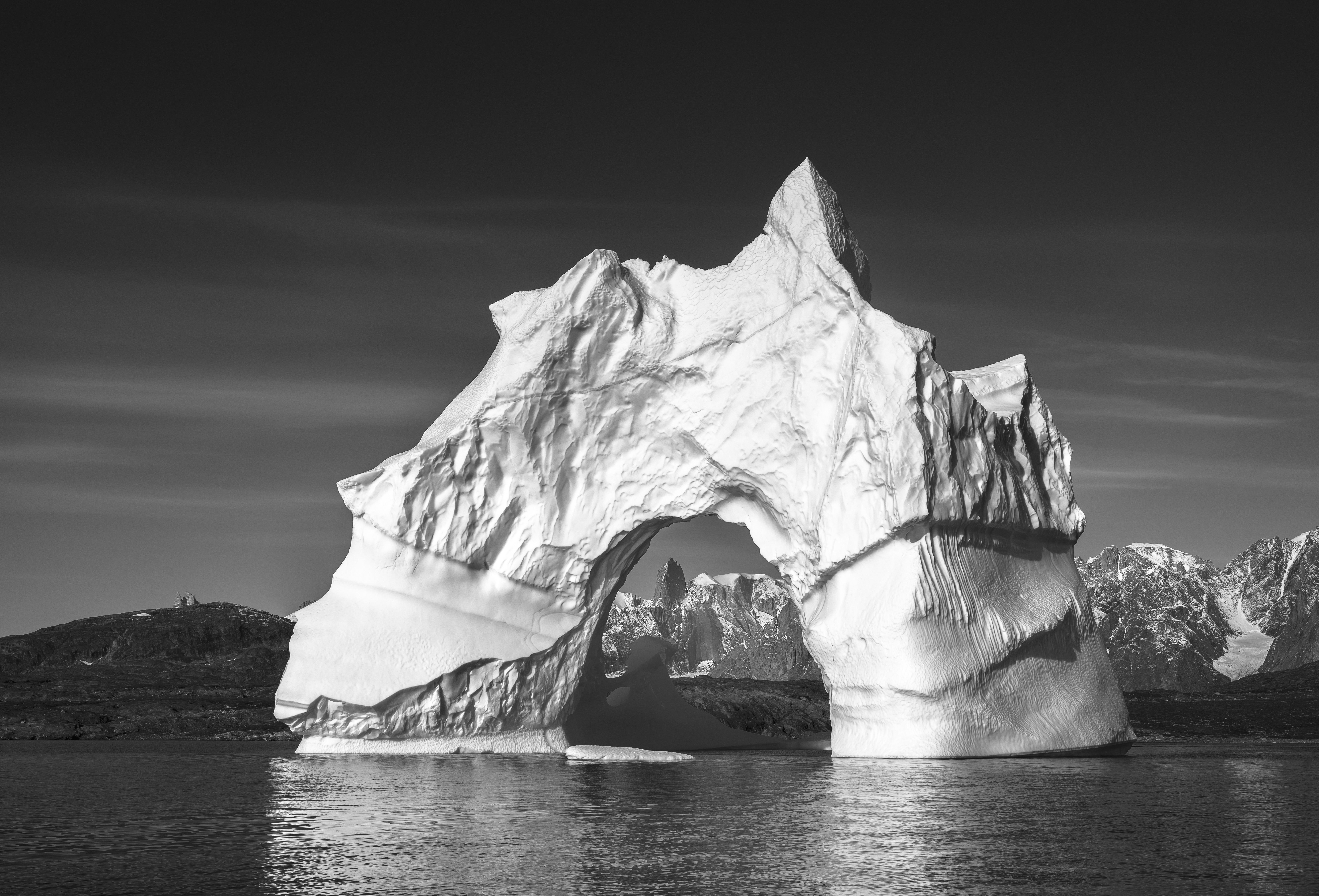 Eric專業攝影師鏡頭下的北極風光。© Eric Wong / Greenpeace