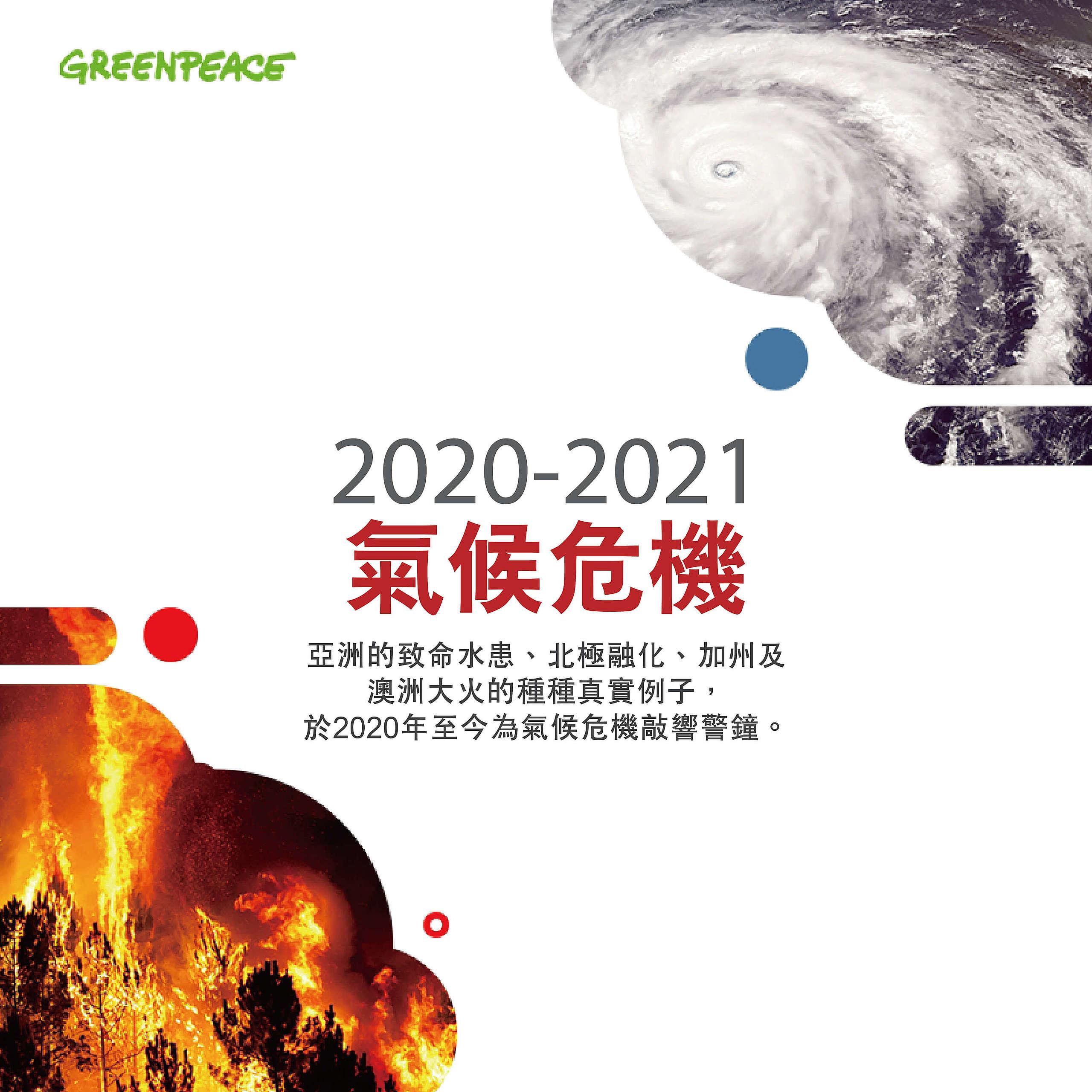 2020-2021年氣候危機