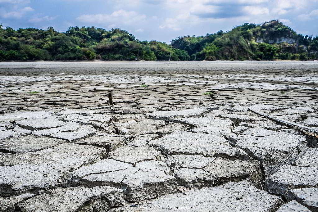 枯水期的台南烏山頭水庫。 © Romix Image / shutterstock.com