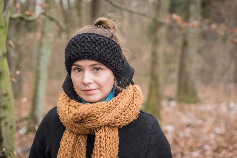 原告之一Luisa Neubaue指出,受到氣候保護措施公平對待,是人們的基本權利。© Bernd Lauter / Greenpeace