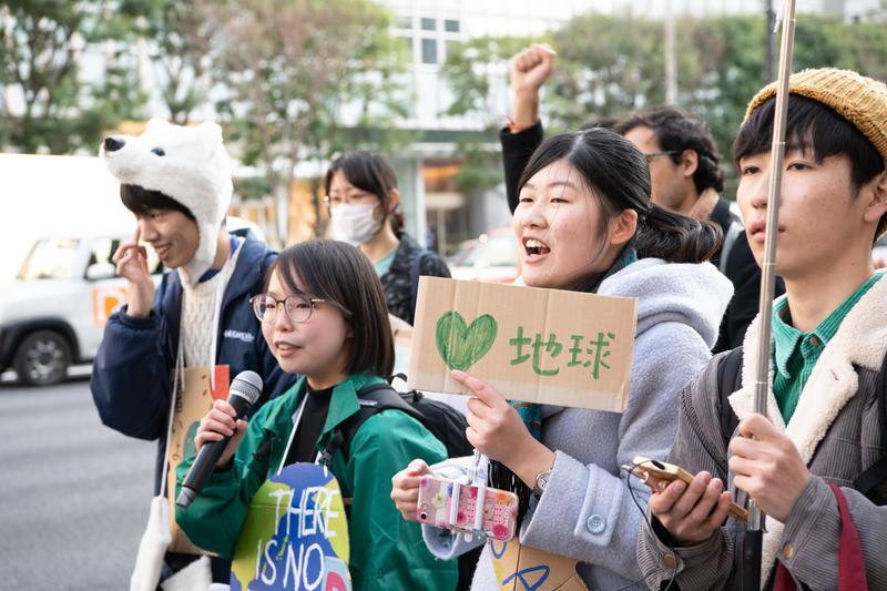 氣候在告急,請你與綠色和平為應對氣候危機的路上同行,由關注COP26開始。© Sawako Obara / Greenpeace