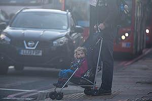 Traffic and Air Pollution in London. © Elizabeth Dalziel