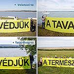 """""""Azért a víz az úr"""" – Országos összefogásban demonstráltak a civilek a természet védelméért, Udvaros Dorottya és mások is csatlakoztak hozzájuk"""