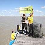 Az agrárminiszter Greenpeace-nek írt levelében áll ki a természetpusztító Fertő tavi luxusberuházás mellett