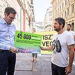 Tízezrek követelik a tisztább levegőt Budapesten