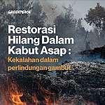 Riset Restorasi Gambut: Restorasi Hilang dalam Kabut Asap