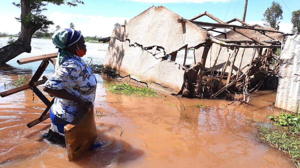 Floods in Migori and Homa Bay Counties in Kenya  © Bernard Ojwang / Greenpeace