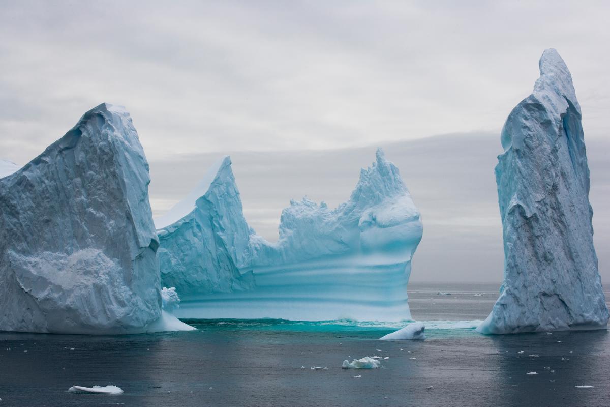 Iceberg in Southern Ocean © Greenpeace / Daniel Beltrá