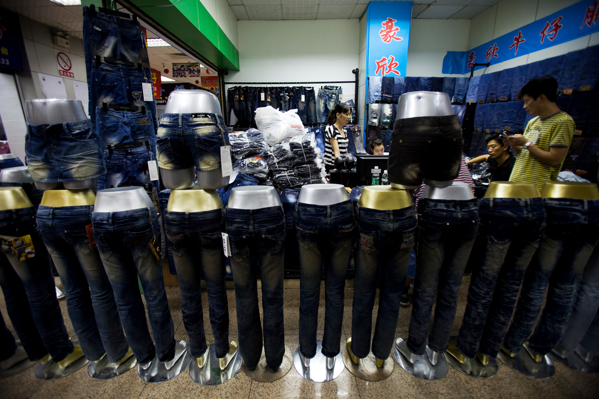 "Xintang, ""denim capital of the world"", Guangdong, China © Lu Guang / Greenpeace"