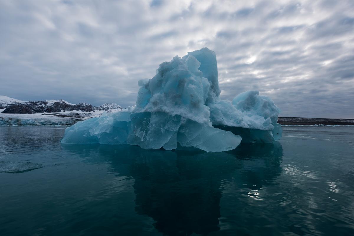 Ice in the Arctic Ocean © Christian Åslund / Greenpeace