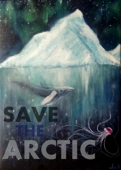 Arctic Frontiers Poster Contest Submission © Greenpeace