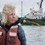 Greenpeace International Executive Director Jennifer Morgan in Svalbard © Christian Åslund / Greenpeace