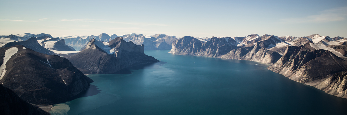 Sam Ford Fjord, north of Clyde River © Greenpeace