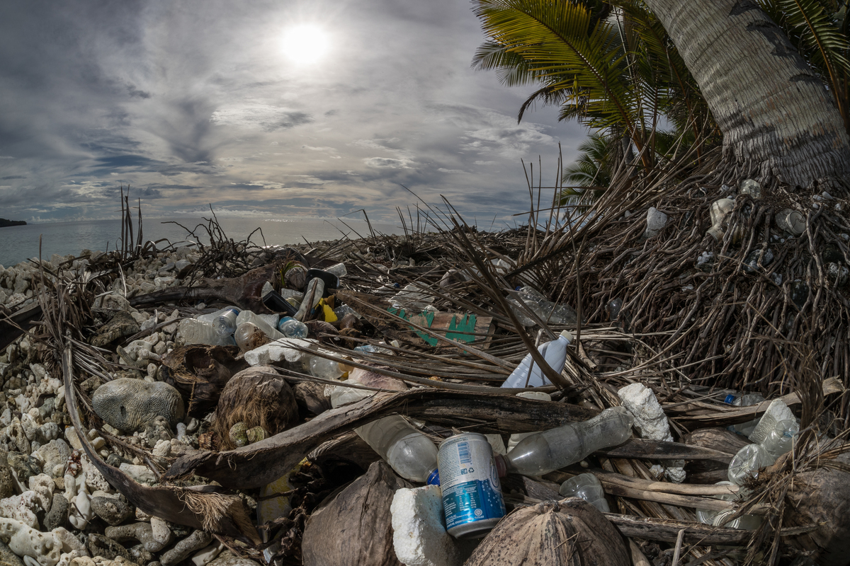 Plastic Waste on Beach in Micronesia © Robert Marc Lehmann / Greenpeace
