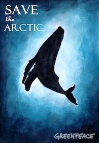 Arctic poster competition winner. 2016 © Sara Medina Rodriguez / Greenpeace