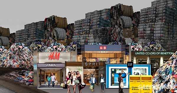 Fast Fashion Environmental Impact © Greenpeace