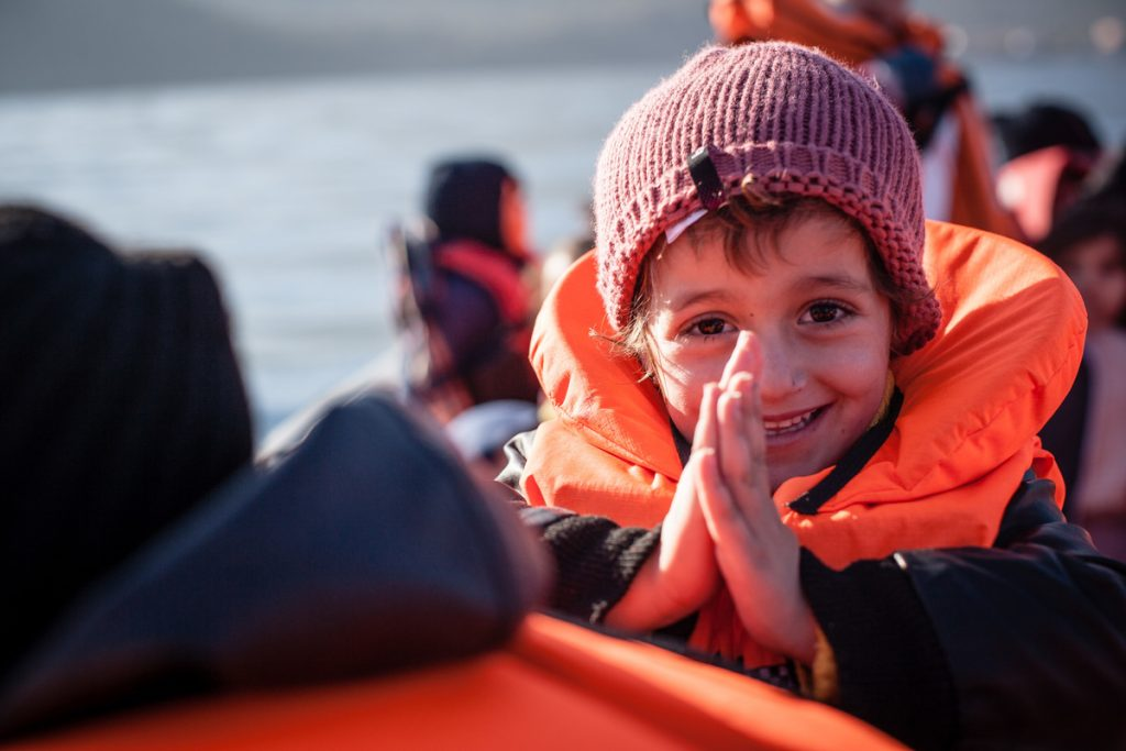 MSF and Greenpeace Launch Life Saving Operations in the Aegean Sea © Will Rose / MSF / Greenpeace