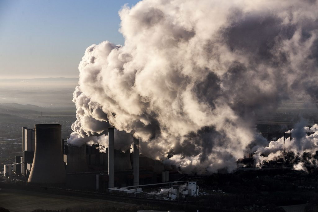 Aerial of Coal Fired Power Plant in Germany © Bernd Lauter / Greenpeace