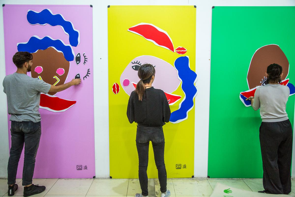 2017 Beijing Design Week © Greenpeace / Wendi Wu