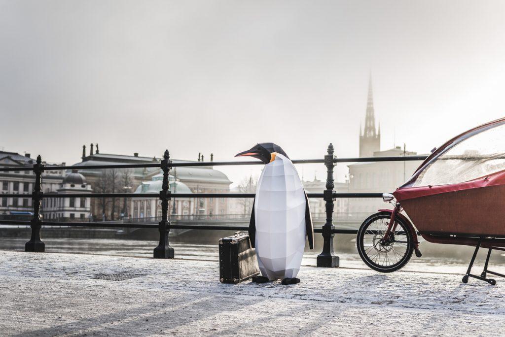 March of the Penguins - Stockholm, Sweden © Jana Eriksson / Greenpeace