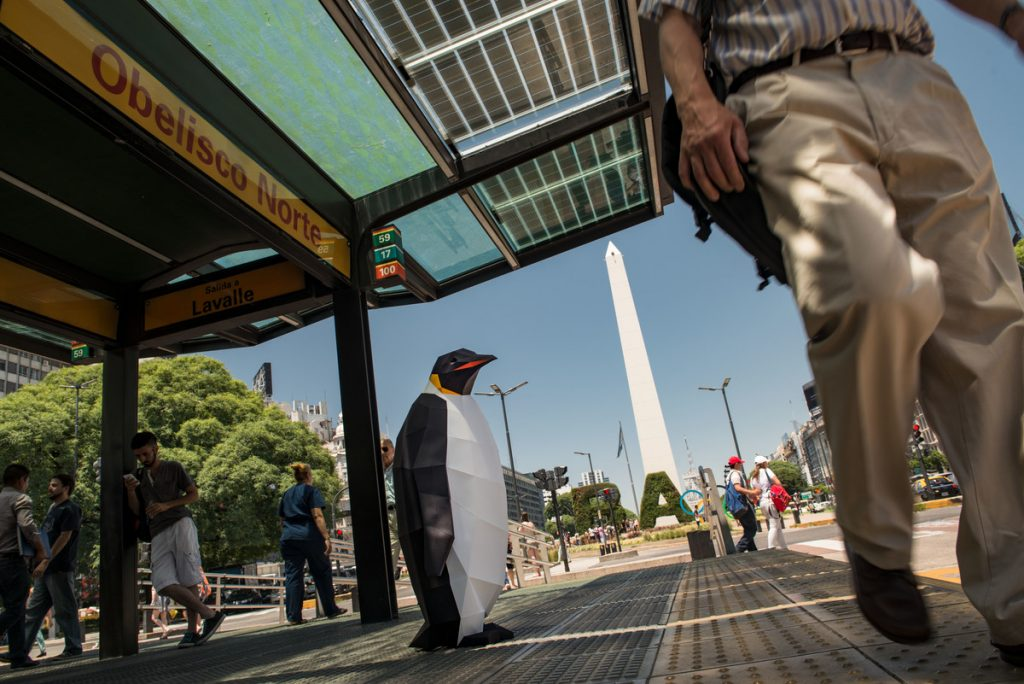 March of the Penguins in Buenos Aires © Martin Katz / Greenpeace