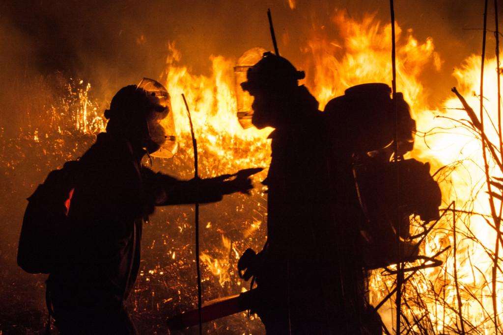 Fighting fires in Russia © Maria Vasilieva / Greenpeace