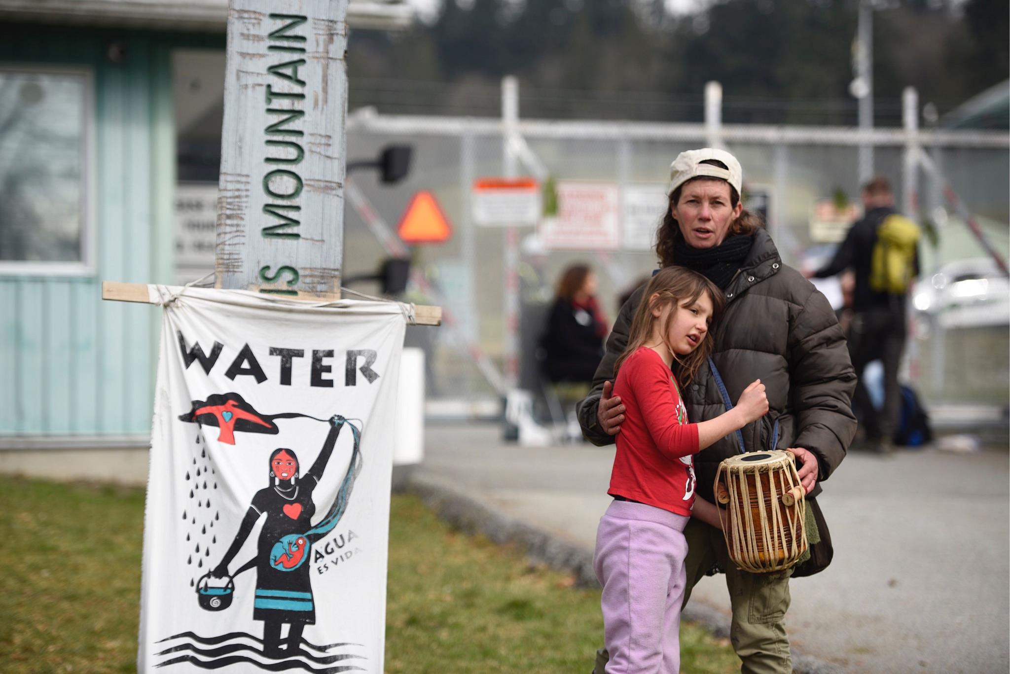 Kinder Morgan Pipeline Blockade in British Columbia, Canada on 19 March, 2018 © Rogue Collective