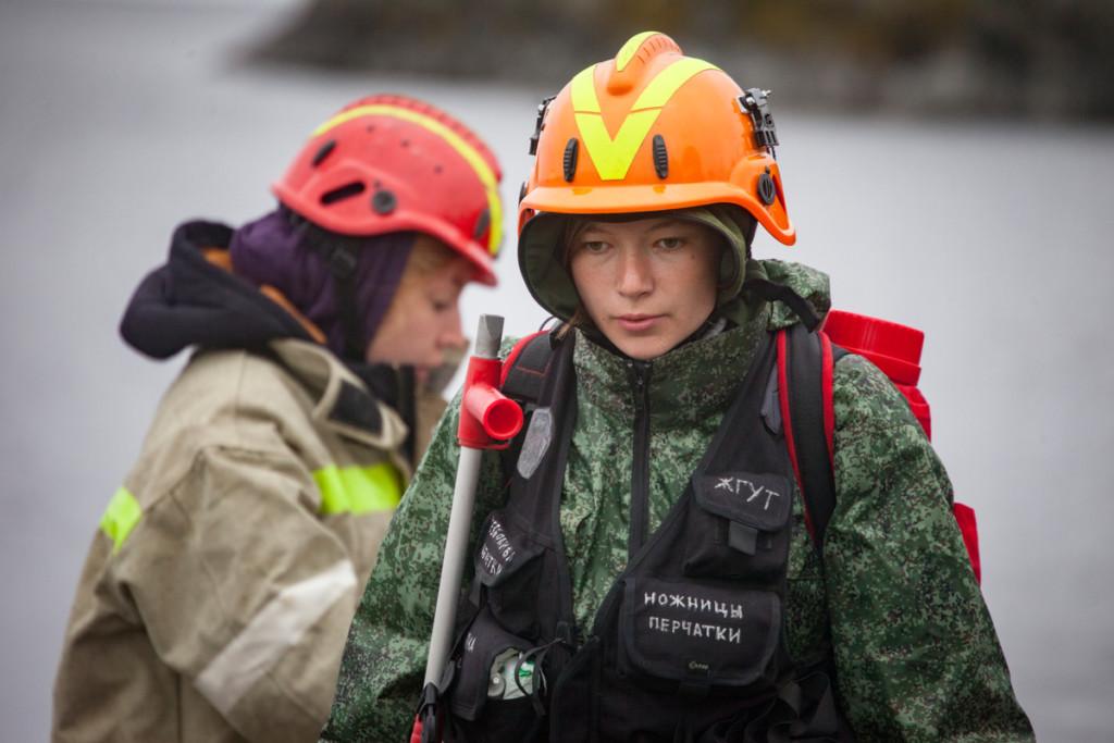 Anastasia Ivashkevich © Maria Vasilieva / Greenpeace