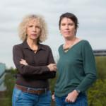 Greenpeace International Executive Directors Jennifer Morgan and Bunny McDiarmid © Bas Beentjes / Greenpeace