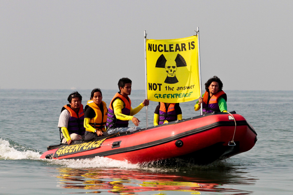 Anti-nuclear action in Manila © Alanah Torralba / Greenpeace