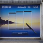 Samsung Flagship Store Action in London