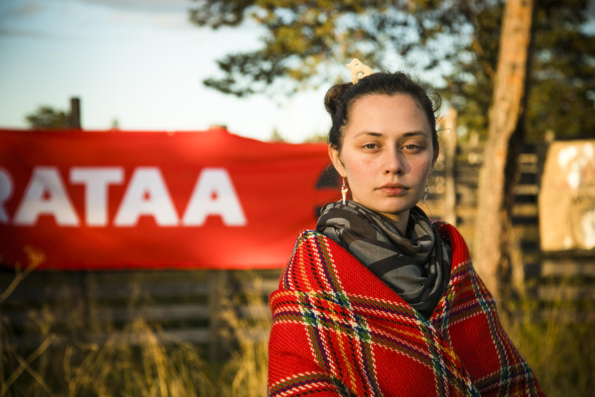 Demonstration against Industrial Exploitation of the Great Northern Forest in Finland © Jonne Sippola / Greenpeace