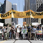 Rise for Climate, Jobs, and Justice March in San Francisco © Michael Short / Greenpeace