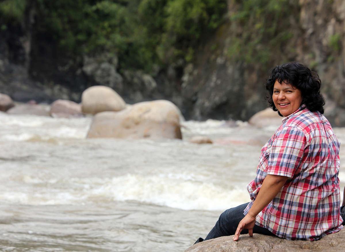 Indigenous Environmental Activist Berta Cáceres © Goldman Environmental Prize