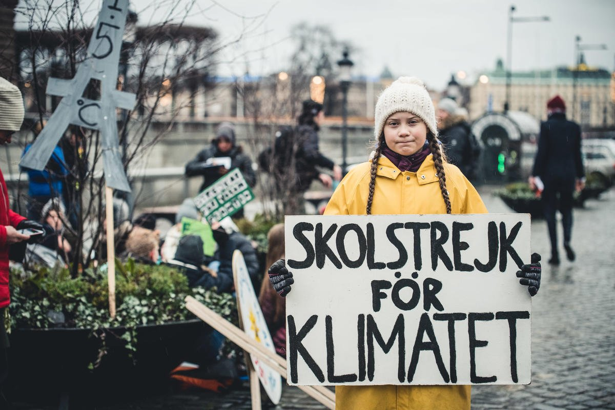 """Fridays for Future"" Climate Demonstration in Stockholm. © Jana Eriksson"