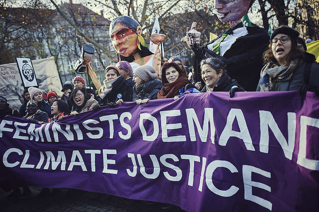 Climate march, COP24 Poland © Greenpeace