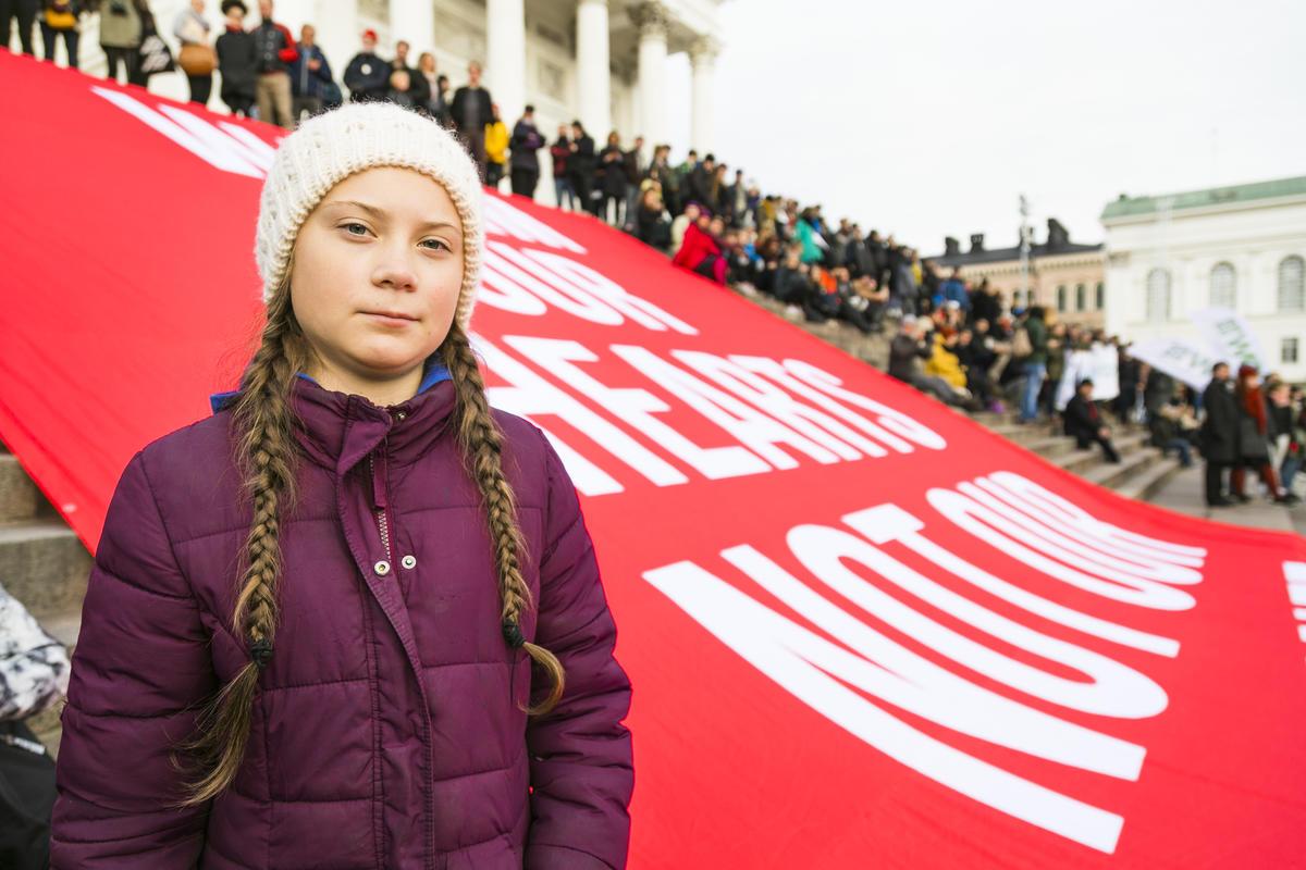 NowWeHaveTo - Climate March in Helsinki © Jonne Sippola / Greenpeace