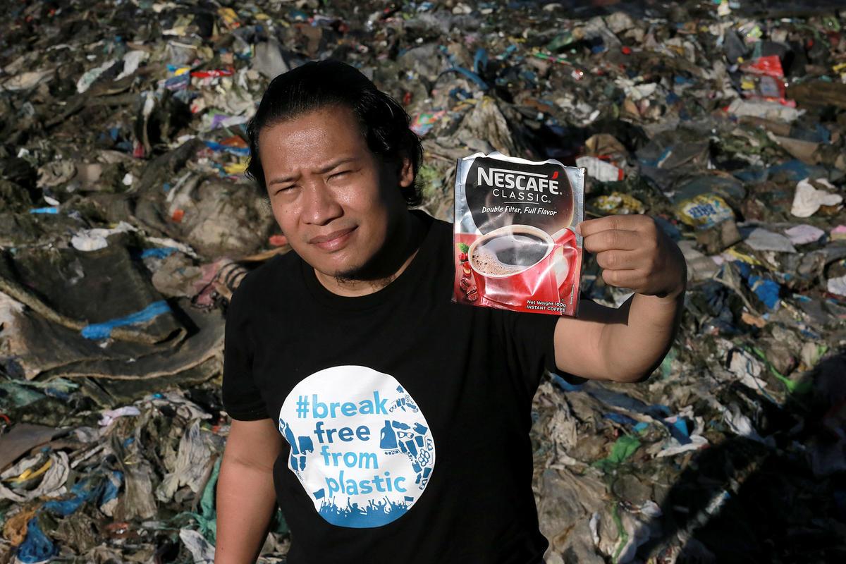 Froilan Grate in Navotas. © Greenpeace