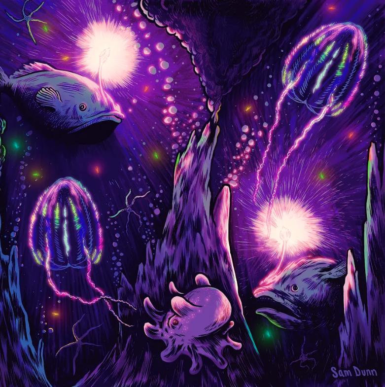Sam Dunn's artwork