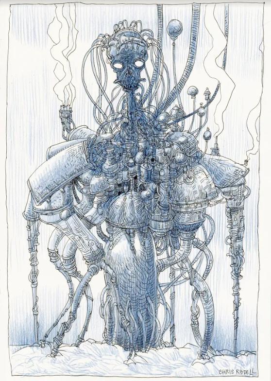 Chris Riddell's second artwork