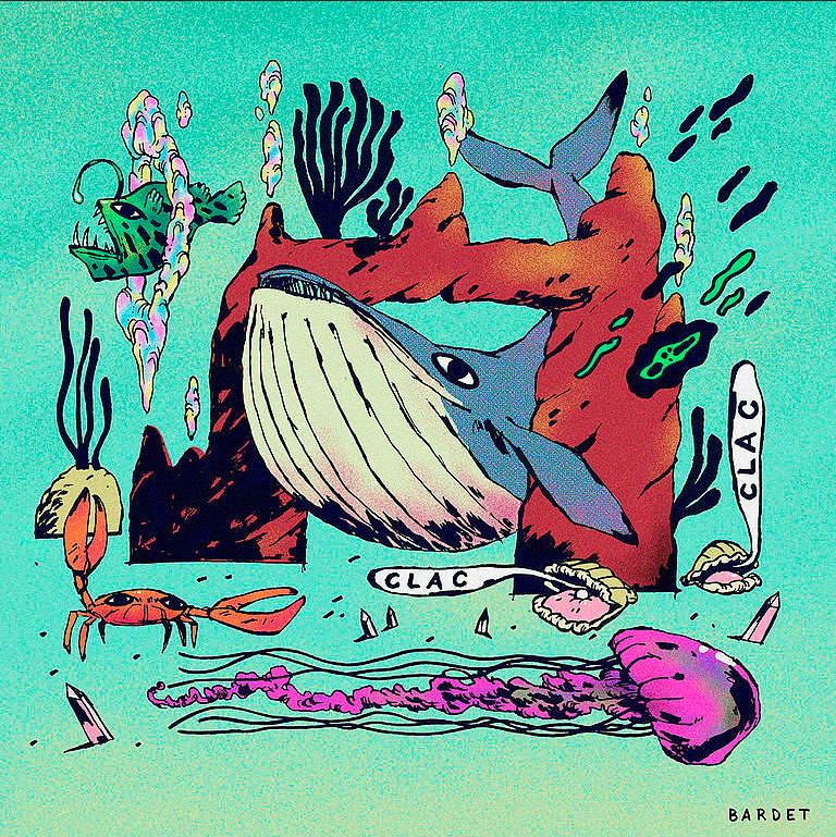 Alain Bardet's artwork