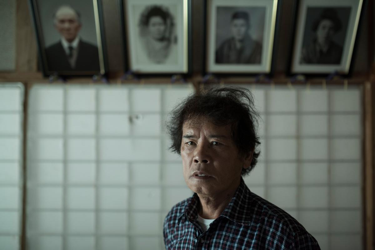 Mr. Toru Anzai at Home in Iitate. © Christian Åslund / Greenpeace