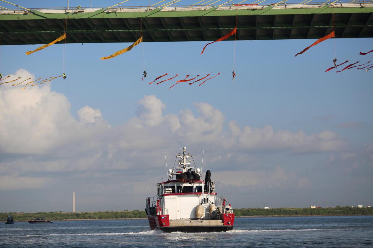 Greenpeace Activist Blockade. © Greenpeace