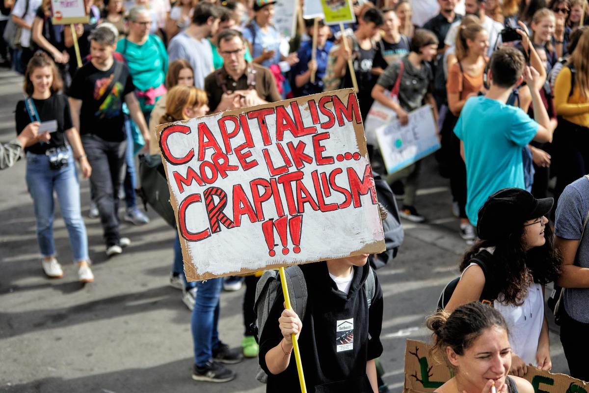 Global Climate Strike in Vienna, Austria. © Mitja  Kobal / Greenpeace