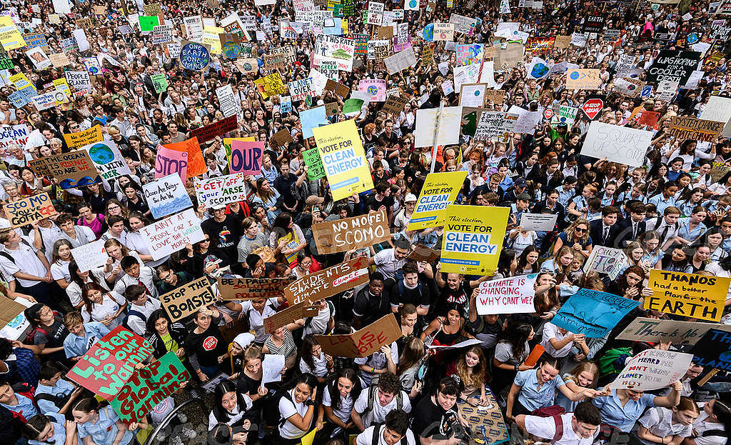 Australian School Students Strike to Raise Climate Change Awareness. © James Gourley / Getty Images